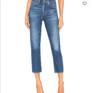 Citizens of Humanity Charlotte Crop Straight Jeans